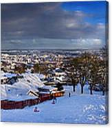 Winter In Inverness Canvas Print