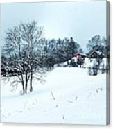 Winter Landscape 1 Canvas Print
