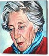 Winter Portrait Sophia Canvas Print