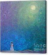 Winter Solitude 1 Canvas Print