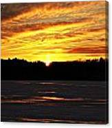 Winter Sunset I Canvas Print