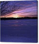 Winter Sunset IIi Canvas Print