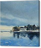 Winter Tide Canvas Print