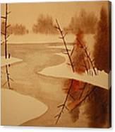 Winterbend Canvas Print