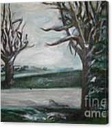Winterland Slumber Canvas Print