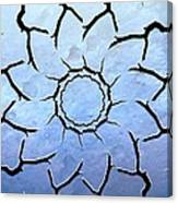 Winter's Flower Canvas Print