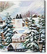 Wintertime In Vail 2286 Canvas Print