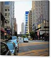 Wisconsin Avenue 2 Canvas Print
