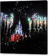 Wishes At The Magic Kingdom Canvas Print