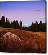 Wolf Creek Twighlight Canvas Print