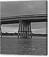 Wolf River Bridge Canvas Print