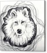 Wolf Totem Canvas Print