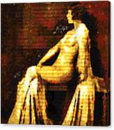Woman Of The Night Canvas Print