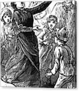 Woman Preaching, 1888 Canvas Print