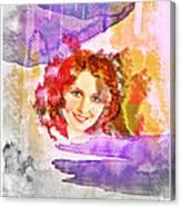 Woman's Soul Part 2 Canvas Print