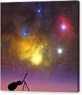 Wonder Of The Universe Canvas Print