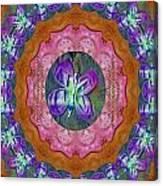 Wonderful Rose Petal Art Canvas Print
