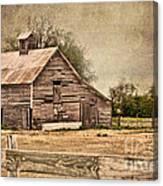 Wood Barn Canvas Print
