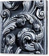Wood Carving Patterns Canvas Print