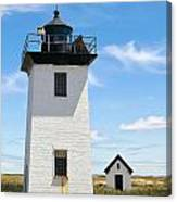 Wood End Lighthouse In Provincetown On Cape Cod Massachusetts Canvas Print