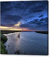 Wood River Saskatchewan Canada Canvas Print