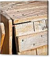 Wooden Crate Canvas Print