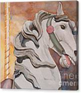 Wooden Horse Canvas Print