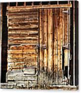 Wooden Slats Barn Canvas Print