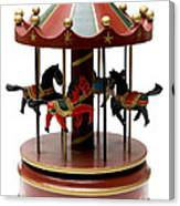 Wooden Toy Carousel Canvas Print