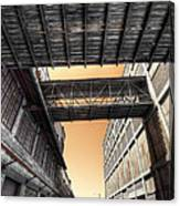 Woolstores Canvas Print