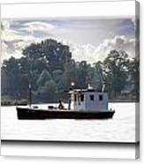 Workboat Canvas Print