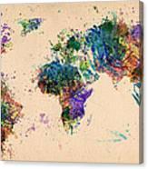 World Map 2 Canvas Print