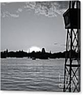 World Showcase Sunset Canvas Print