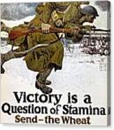 World War I: Poster, 1917 Canvas Print