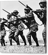 World War II: Training Canvas Print