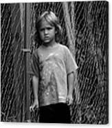 Worried Innocence Canvas Print