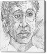 Worried Man Canvas Print