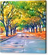 Wortham Blvd Houston Canvas Print