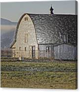 Wrapped Barn Canvas Print