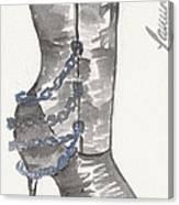 Wrath Boot Canvas Print