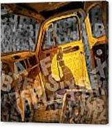 Wreck On The Information Highway Canvas Print