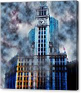 Wrigley In Clouds Canvas Print