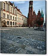 Wroclaw Town Hall Canvas Print