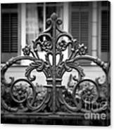 Wrought Iron Detail Canvas Print
