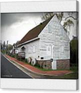 Wye Mill - Street View Canvas Print