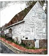 Wye Mill - Water Color Effect Canvas Print
