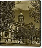 Wyoming Capitol Canvas Print