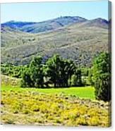 Wyoming Landscape Canvas Print