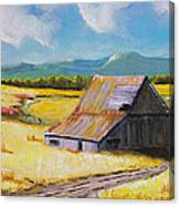 Wyoming Valley Canvas Print
