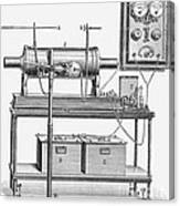X-ray Machine Canvas Print